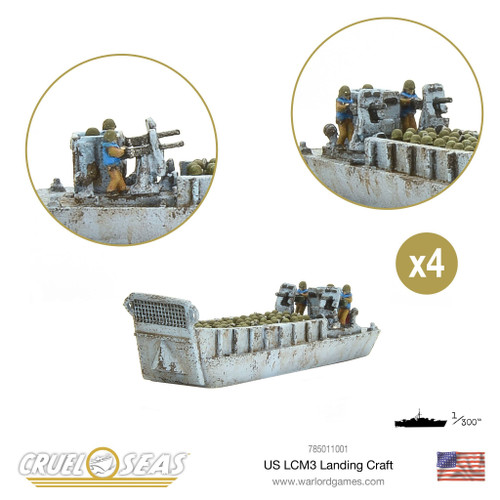 Cruel Seas: US LCM3 Landing Craft