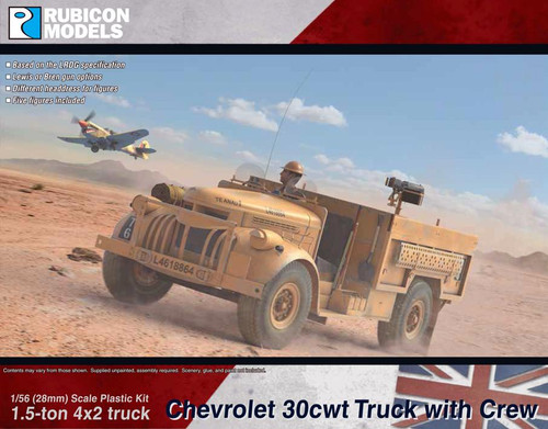 Rubicon Models Chevrolet 30cwt Truck (1:56th scale / 28mm)