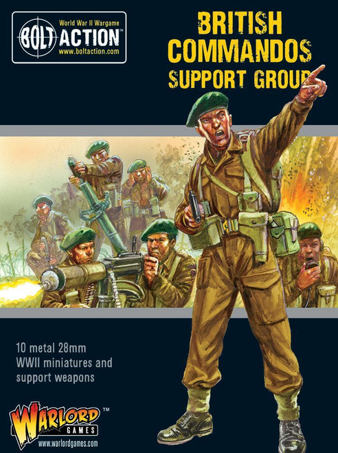 Bolt Action: Commandos Support Group