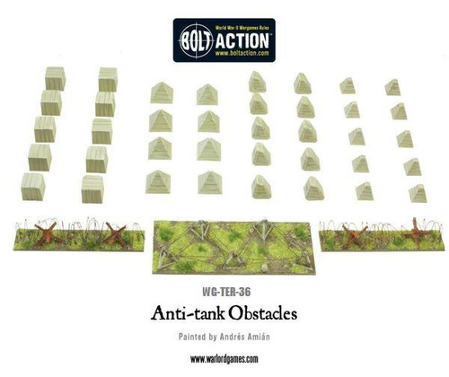 Bolt Action: Anti-Tank Obstacles