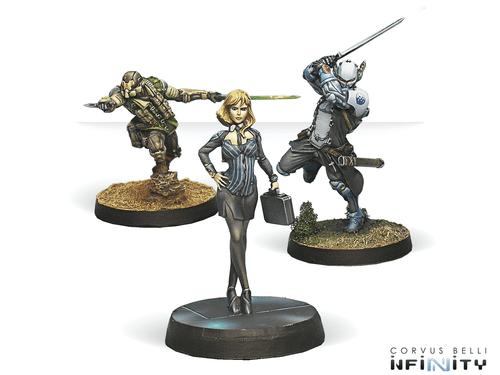 Infinity (#446) Dire Foes Mission Pack 4: Flee Or Die