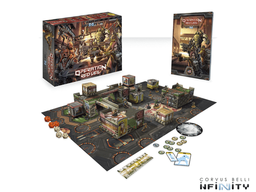 Infinity (#595): Operation Red Veil Two-Player Battle Pack