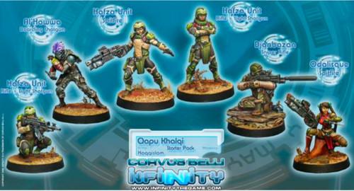 Infinity (#432) Haqqislam: Qapu Khalqi Sectorial Starter Pack