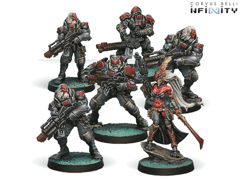 Infinity (#453) Combined Army: Morat Aggression Forces Sectorial Starter Pack