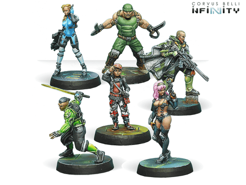Infinity (#673) Mercenaries: Outrage Characters Pack (6)