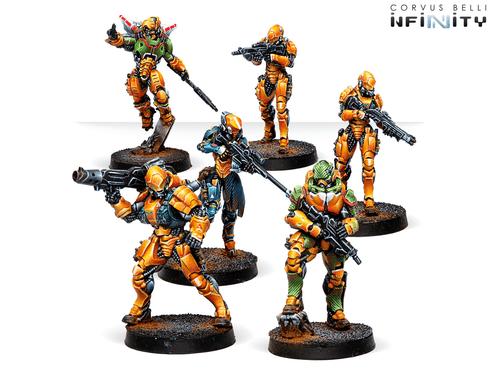 Infinity (#753) Yu Jing: Invincible Army Yu Jing Sectorial Starter Pack (6)