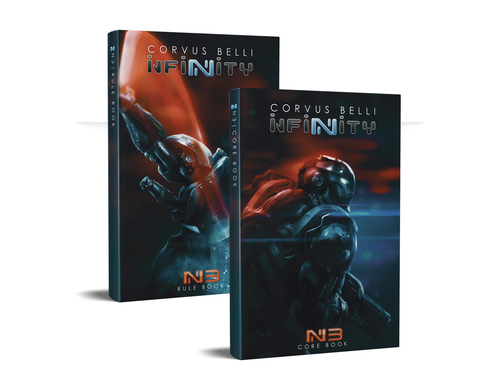 Infinity: N3 Rulebooks (Two Full Color Soft Cover in Case)
