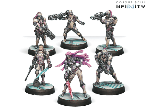 Infinity (#383) ALEPH The Steel Phalanx (ALEPH Sectorial Starter Pack)