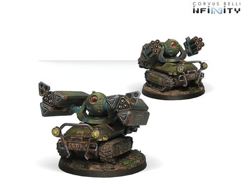 Infinity (#323) Ariadna: Traktor Muls. Regiment of Artillery and Support (2)