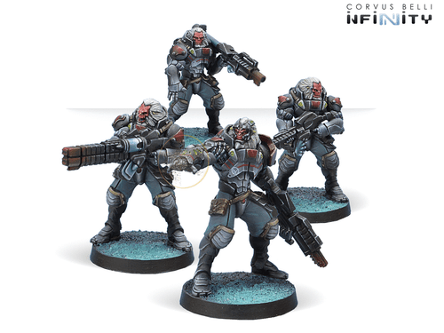 Infinity (#468) Combined Army: Morat Vanguard Infantry