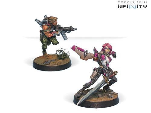 Infinity (#131) Mercenaries Yuan Yuan (Rifle, Chain Rifle) (2)