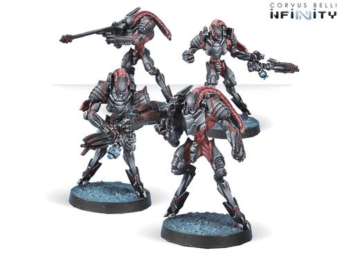 Infinity (#516): Combined Army Unidron Batroids (4)