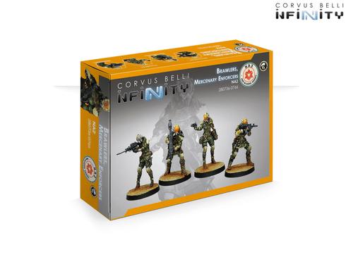 Infinity (#766): NA2 Brawlers, Mercenary Enforcers