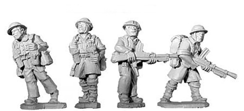 Artizan WWII 28mm: British 8th Army Bren Teams (4)