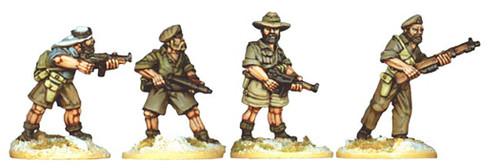 Artizan WWII 28mm: SAS / LRDG Group (4)