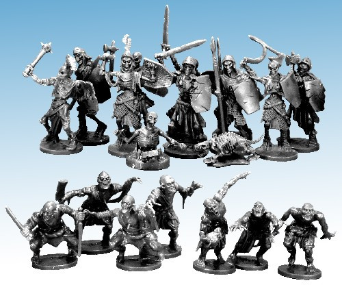 Frostgrave Undead Encounters