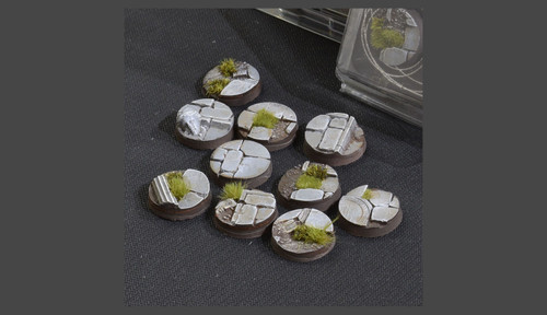 Battle Ready Bases: Temple Bases Round 25mm (x10)