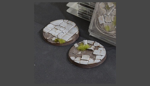 Battle Ready Bases: Temple Bases Round 60mm (x2)