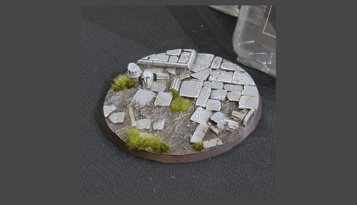 Battle Ready Bases: Temple Bases Round 100mm (x1)