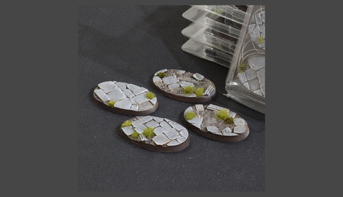 Battle Ready Bases: Temple Bases Oval 60mm (x4)