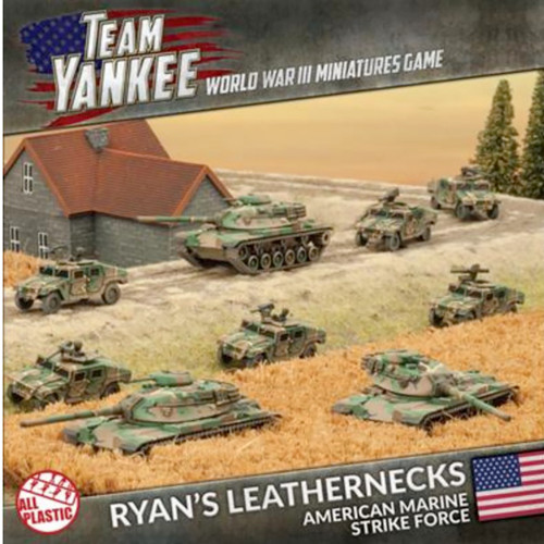 Team Yankee:  Ryan's Leathernecks American Marine Strike Force  (Plastic Army Deal)