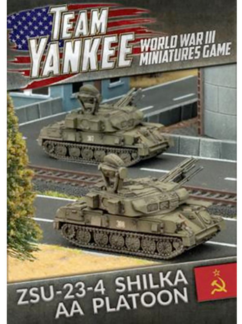 Team Yankee:  ZSU-23-4 Shilka AA Platoon