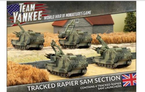 Team Yankee:  Tracked Rapier SAM Section