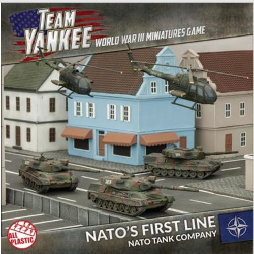 Team Yankee:  NATO'S Front Line Army Deal
