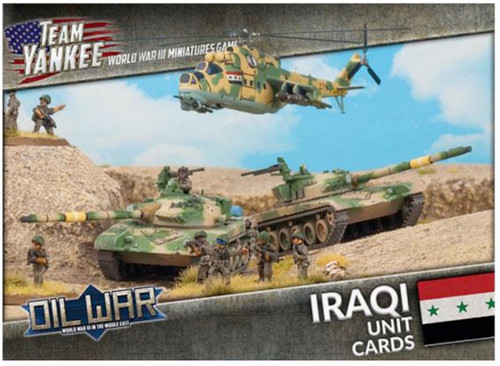 Team Yankee:  Iraqi Unit Cards (x43 cards)