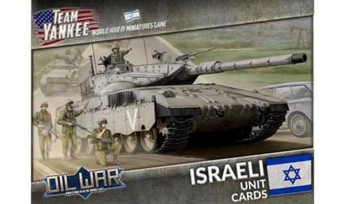 Team Yankee:  Israeli Unit Cards