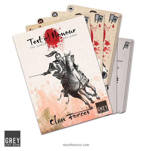 Test of Honour V2: Clan Forces Card Set