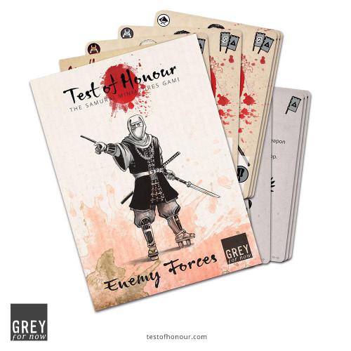 Test of Honour V2: Enemy Forces Card Set
