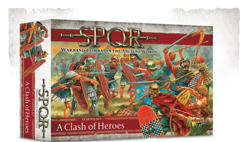 SPQR: A Clash of Heroes Starter Set (With Revised Rule Book)