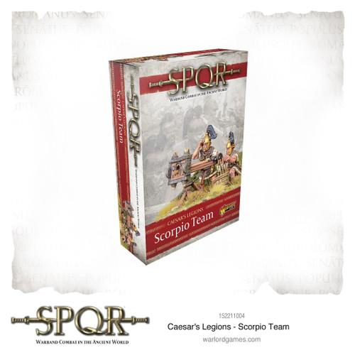 SPQR: Caesar's Legions Scorpion team