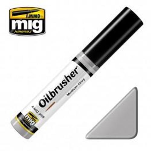AMMO: Oilbrusher - Medium Grey