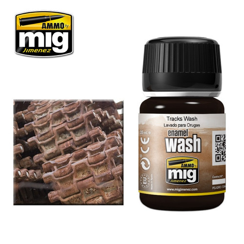 AMMO: Enamel Washes - Tracks (35ml)