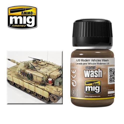 AMMO: Enamel Washes - US Modern Vehicles (35ml)