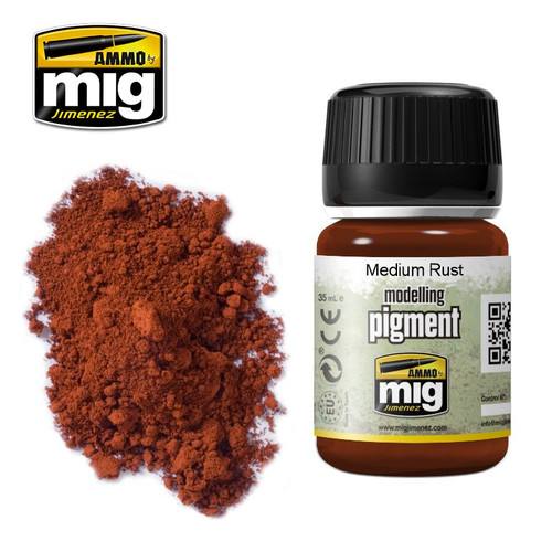 AMMO: Pigments - Medium Rust (35ml)