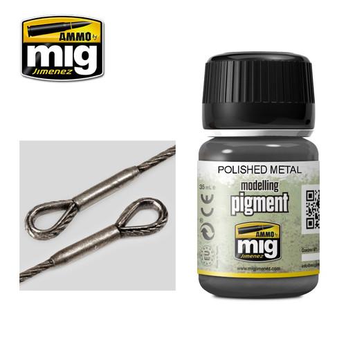 AMMO: Pigments - Polished Metal (35ml)
