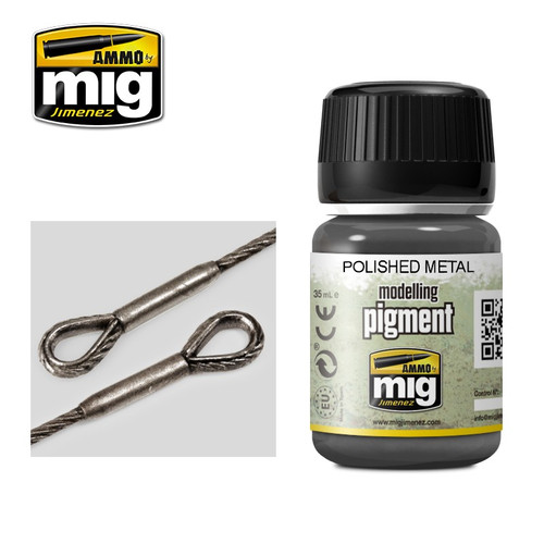 AMMO: Pigments - Polished Metal (35ml)