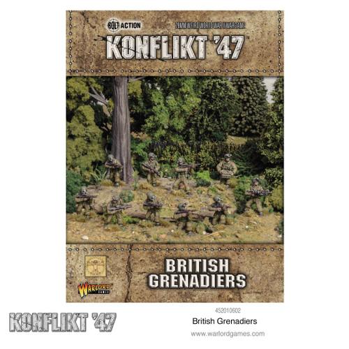 Konflikt '47: British Grenadiers