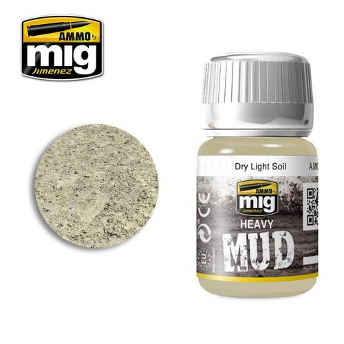 AMMO: Enamel Heavy Mud Texture - Dry Light Soil (35ml)