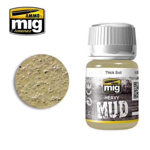 AMMO: Enamel Heavy Mud Texture - Thick Soil (35ml)