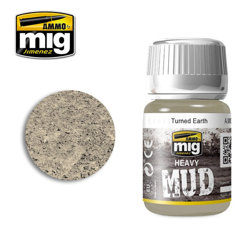 AMMO: Enamel Heavy Mud Texture - Turned Earth (35ml)