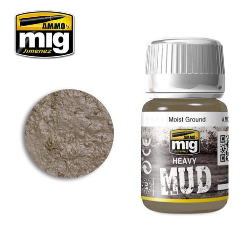 AMMO: Enamel Heavy Mud Texture - Moist Ground (35ml)