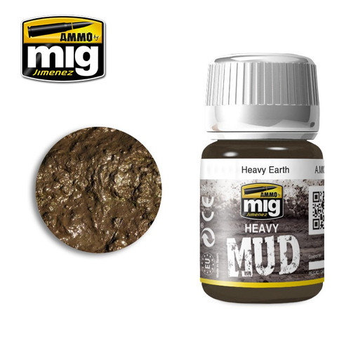 AMMO: Enamel Heavy Mud Texture - Heavy Earth (35ml)