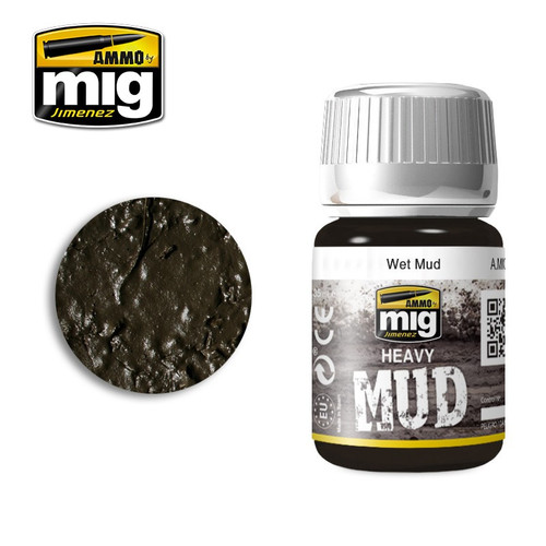 AMMO: Enamel Heavy Mud Texture - Wet Mud (35ml)