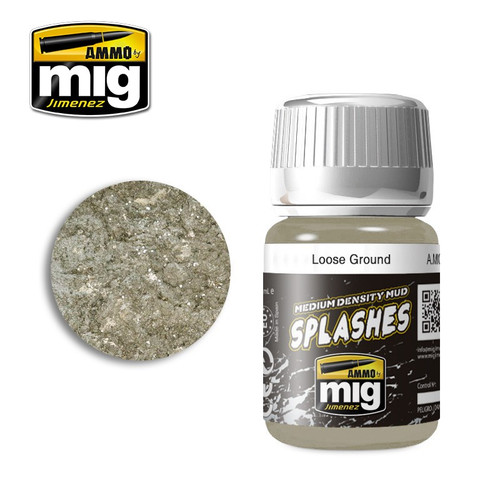 AMMO: Enamel Splash/Medium Mud Texture - Loose Ground (35ml)