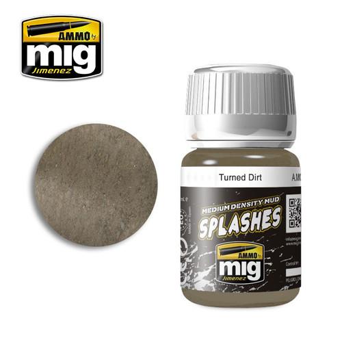 AMMO: Enamel Splash/Medium Mud Texture - Turned Dirt (35ml)