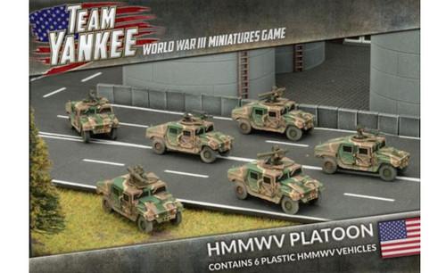 Team Yankee:  HMMWV Platoon (6 x Plastic)